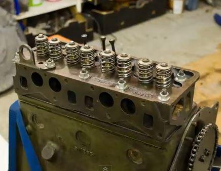 engine rebuild stop motion