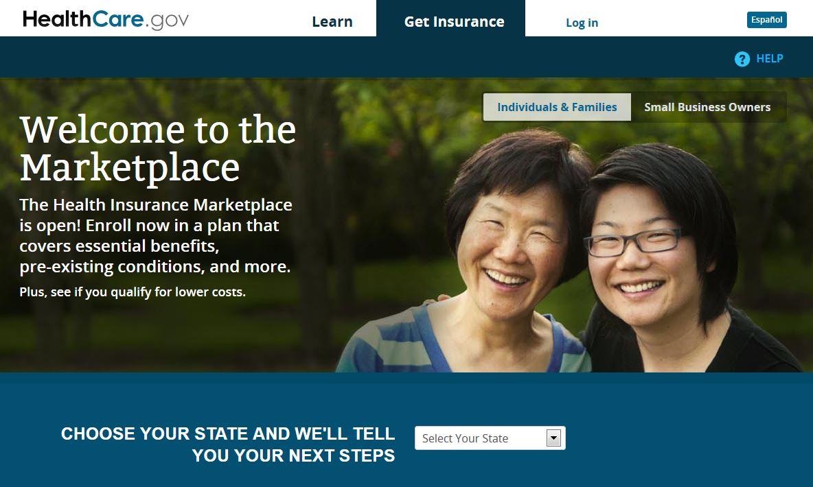 obamacare healthcare website down