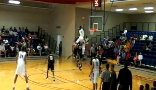 Javonte-Douglas-Dunk-head-over-rim