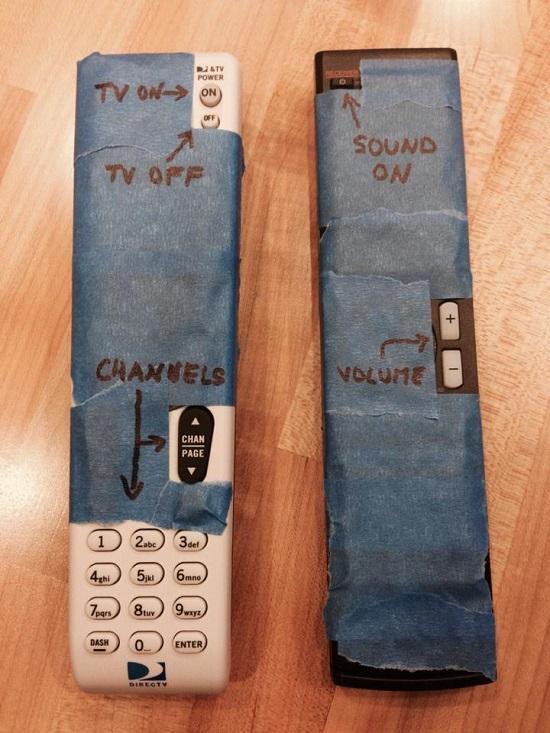 dad proofing remotes