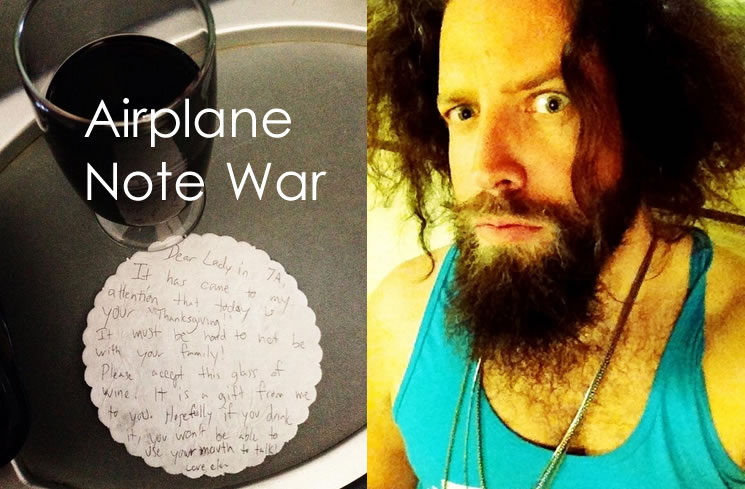 airplane note war twitter