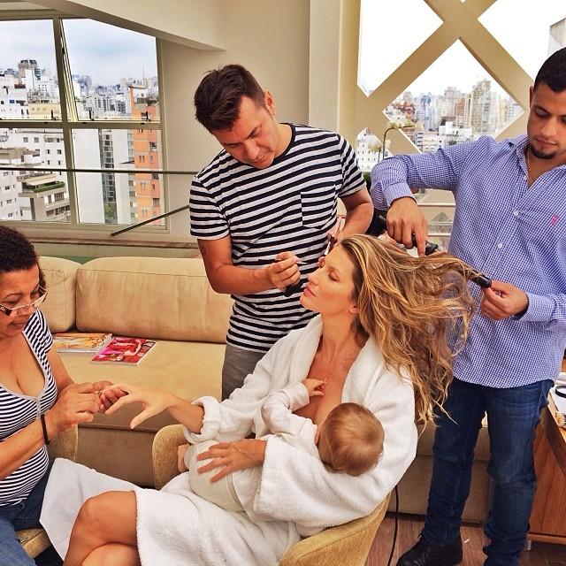 gisele breastfeeding picture instagram