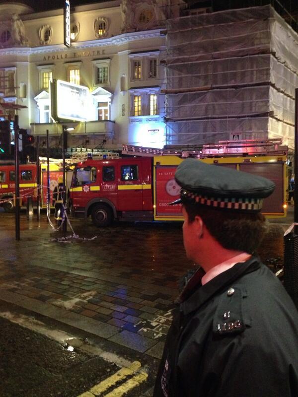 london apollo theatre collapse pictures 3