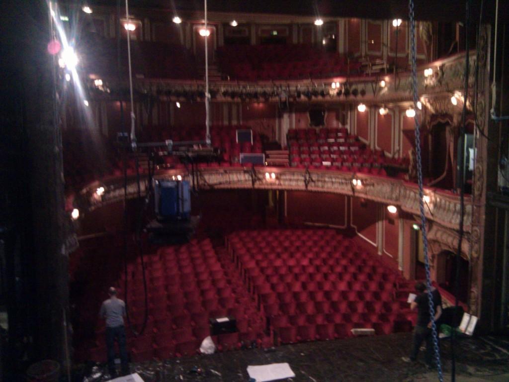 London Apollo Theatre Balcony Collapse