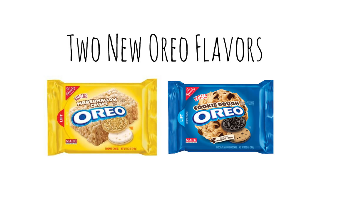 new oreo flavors cookie dough
