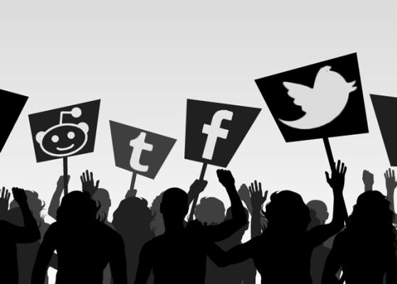 social media protest