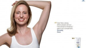 dove armpit billboard