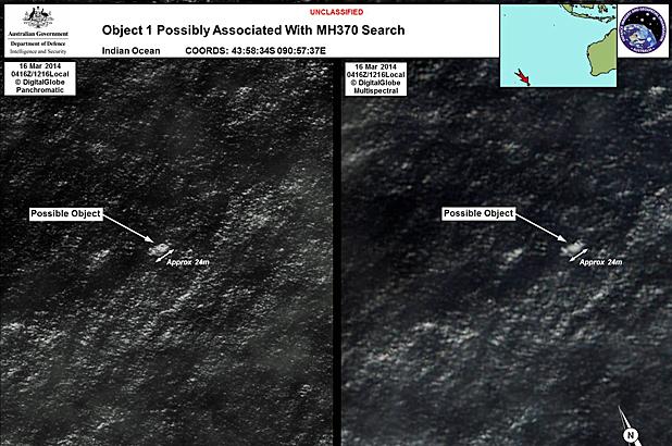 possible debris flight 370 malaysia found
