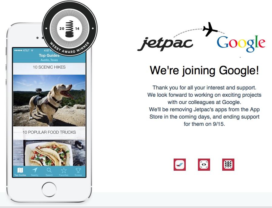 google-aquires-jetpac-citi-guides