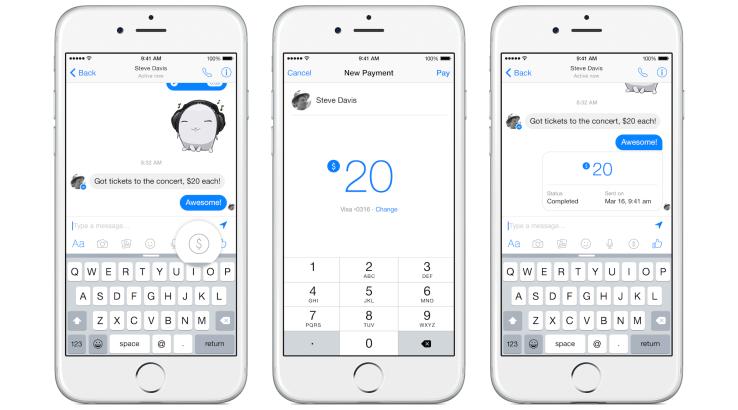 facebook payment messenger