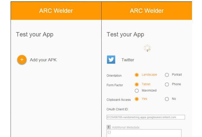 google arc tool for app development