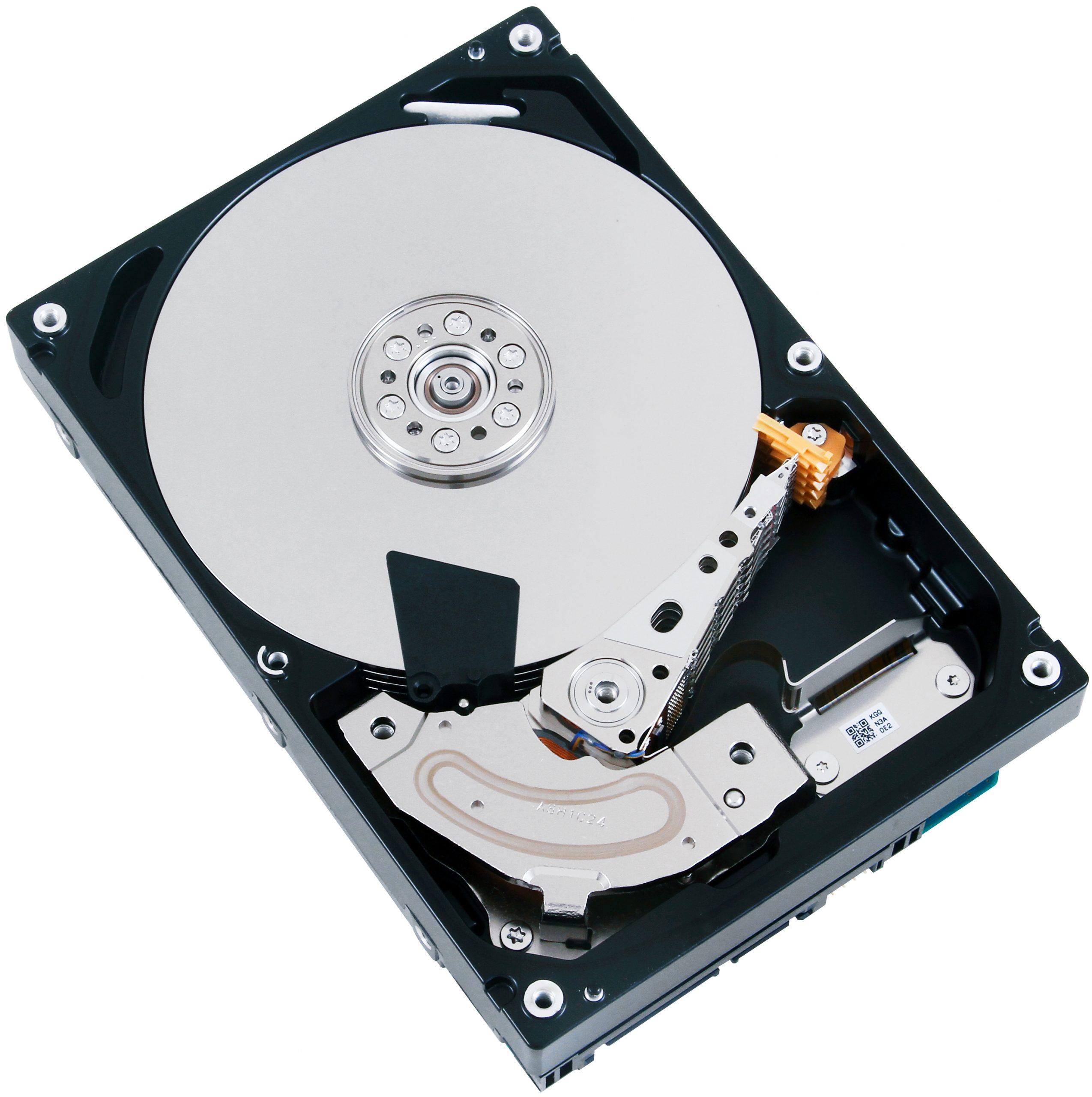 hard drive parts view