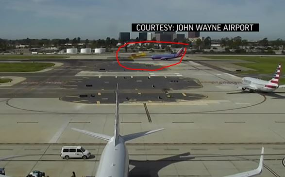 harrison ford near plane crash video