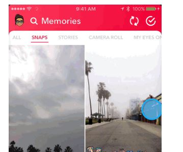 upload videos to snapchat from camera roll 1