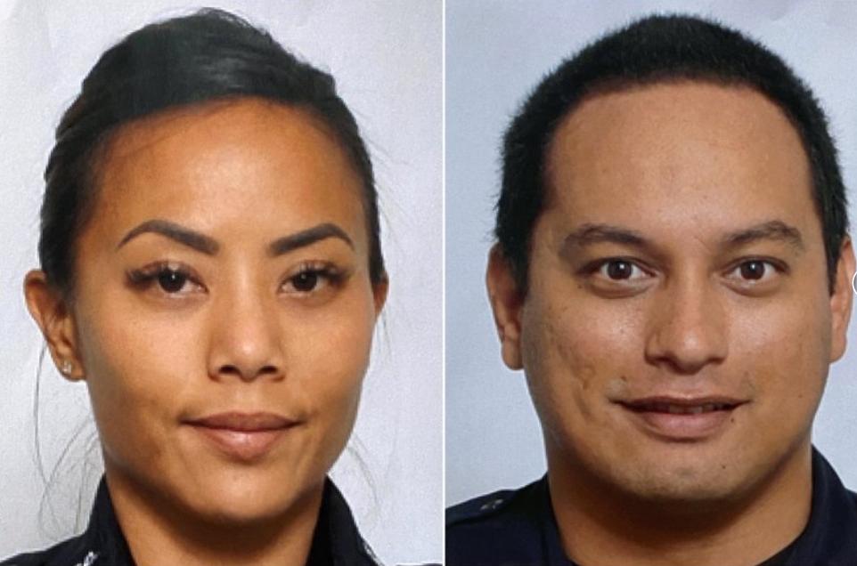 hawaai shooting two officers