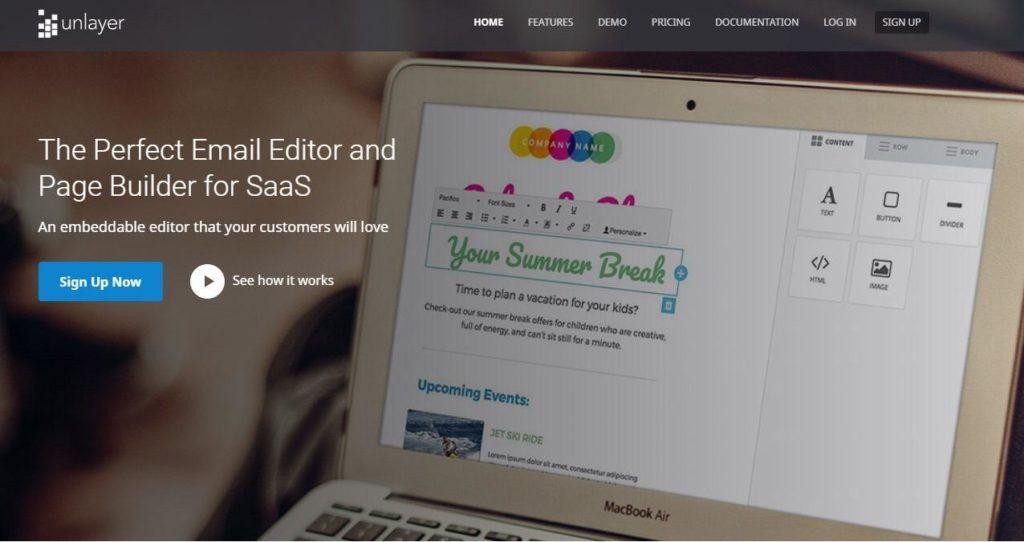 13 web design tools unlayer