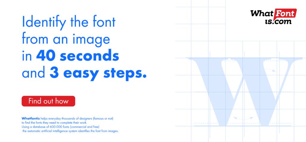 2 web design tools whatfontis