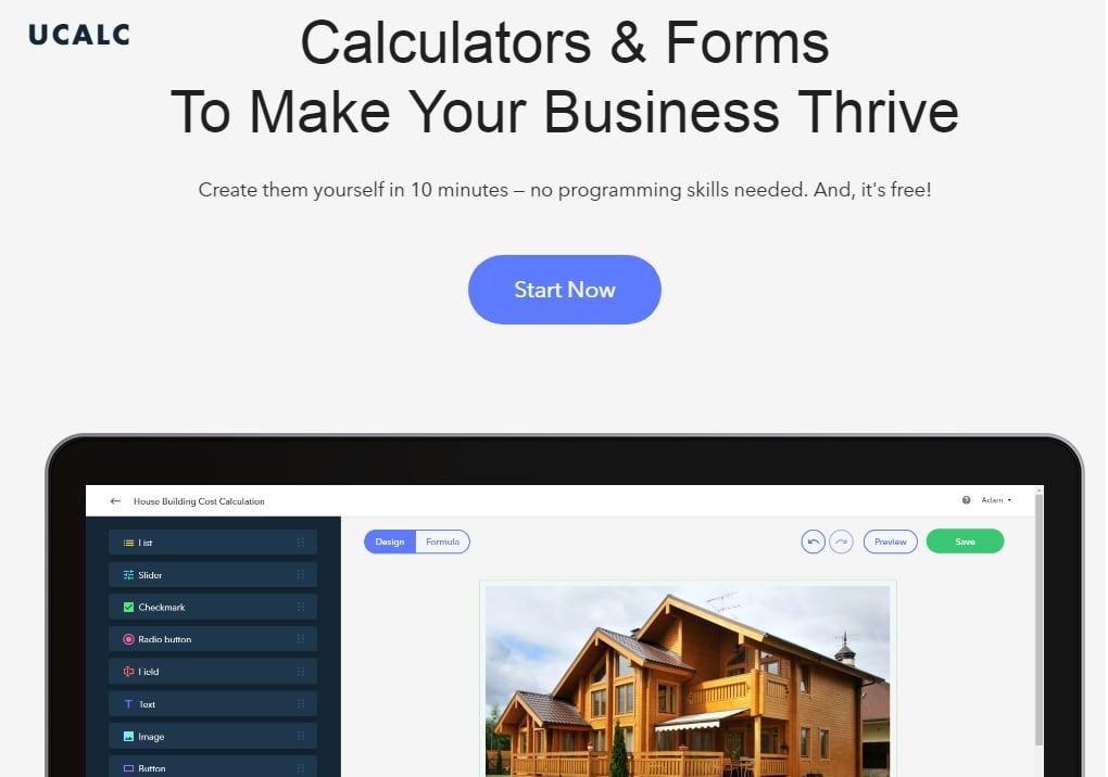 25 web design tools ucalc