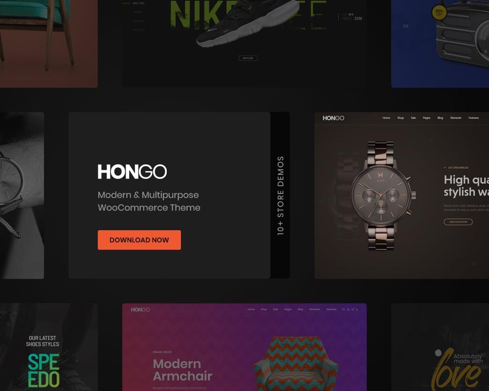 39 web design tools hongo multipurpose wordpress theme