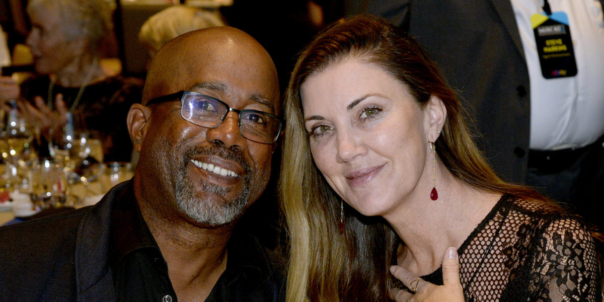 Darius Rucker and his wife